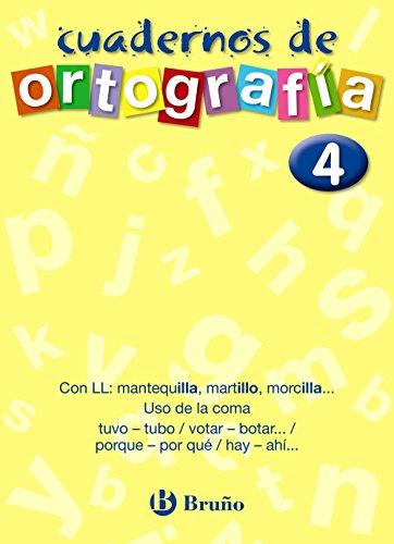 9788421643464: Cuaderno de Ortografía 4 (Castellano - Material Complementario - Cuadernos De Ortografía) - 9788421643464