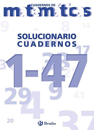 9788421646366: Solucionario Cuadernos de Matemáticas 1-47