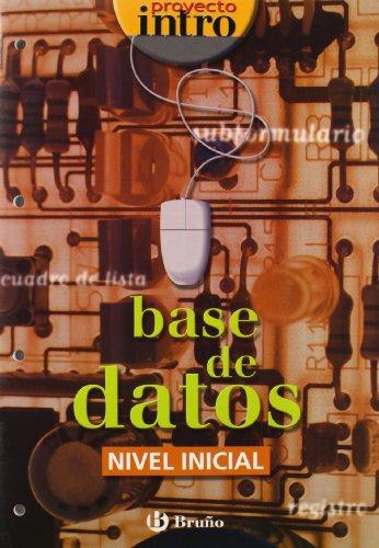 9788421650349: Intro Base de datos/ Database: Nivel Inicial/ Beginner Level (Spanish Edition)