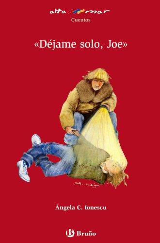 9788421653685: Dejame solo, Joe (Alta Mar: Cuentos / Open Sea: Stories) (Spanish Edition)