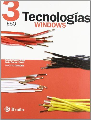 9788421653968: Tecnologías 3 ESO Windows Conocer (ESO 2007)