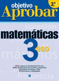 9788421654637: OBJETIVO APROBAR-MATEMATICAS 3�ESO