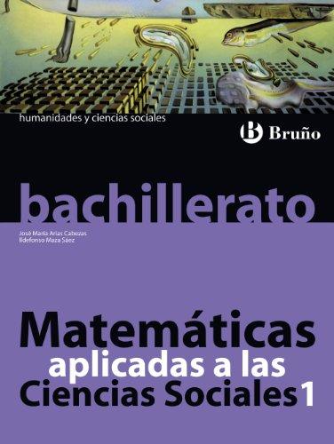 9788421659878: Matemáticas aplicadas a las Ciencias Sociales 1 Bachillerato