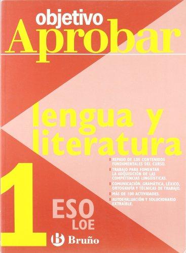 9788421660003: Objetivo aprobar Lengua y Literatura 1 ESO (Castellano - Material Complementario - Objetivo Aprobar Loe)
