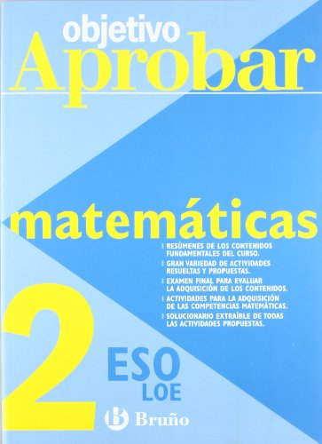 9788421660096: Matemáticas 2ºeso objetivo aprobar loe (Castellano - Material Complementario - Objetivo Aprobar Loe)