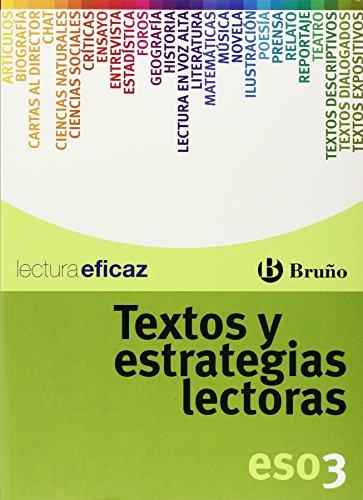 9788421660270: Textos y estrategias lectoras 3 ESO (Castellano - Material Complementario - Textos Y Estrategias Lectoras) - 9788421660270
