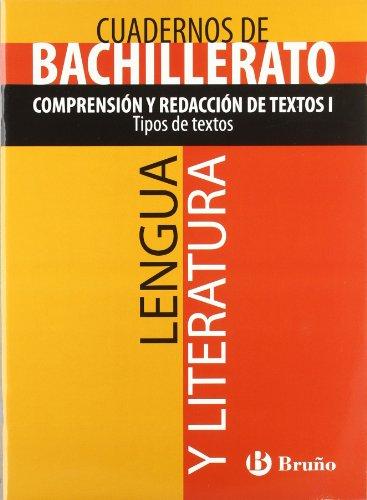 9788421660768: Cuaderno Lengua y Literatura Bachillerato Comprensión y redacción de textos I. Tipos de textos (Castellano - Material Complementario - Cuadernos Temáticos De Bachillerato) - 9788421660768