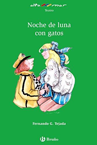 9788421663196: Noche de luna con gatos (Castellano - A PARTIR DE 10 AÑOS - ALTAMAR)