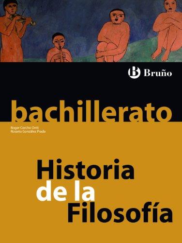 9788421664568: Historia de la Filosofía Bachillerato