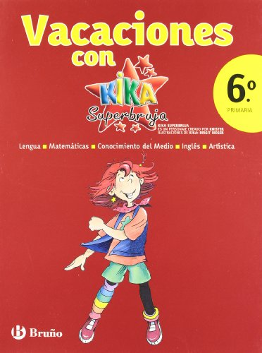 9788421667774: Vacaciones con Kika Superbruja / Holidays with Kika Super Witch: 6to primaria / 6th Elementary (Vacaciones / Holidays)