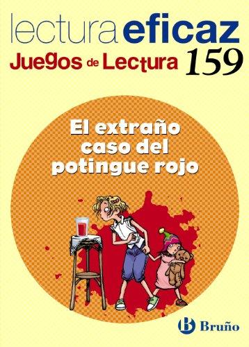 9788421668917: El extraño caso del potingue rojo Juego Lectura (Castellano - Material Complementario - Juegos De Lectura) - 9788421668917