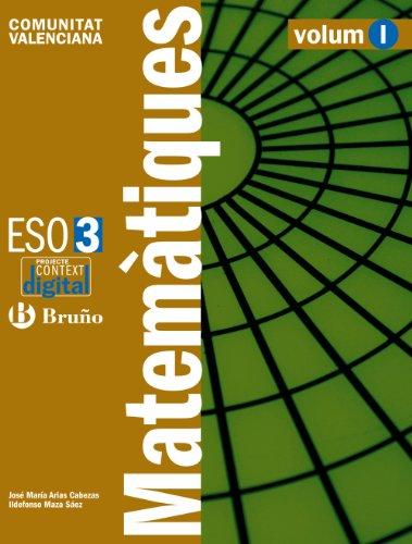 9788421669532: contextodigital-matemtiques-3-eso-comunitat-valenciana