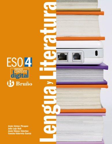 9788421671030: ContextoDigital Lengua y Literatura 4 ESO