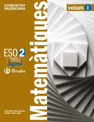 9788421673232: ContextDigital Matemàtiques 2 ESO Comunitat Valenciana (ContextoDigital)