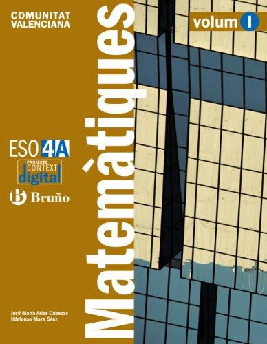 9788421673294: contextdigital-matemtiques-4-a-eso-comunitat-valenciana-educacion-secundaria-obligatoria---segundo-ciclo---4