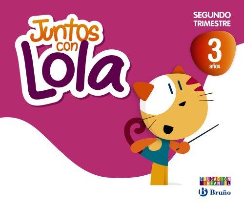 9788421675359: Juntos con Lola 3 años Segundo trimestre (Juntos con... Lola, Max y Zeta) - 9788421675359