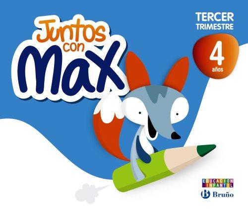 9788421675403: Juntos con Max 4 años Tercer trimestre