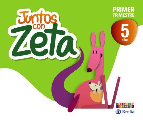 9788421675427: Juntos con Zeta 5 años Primer trimestre (Juntos con... Lola, Max y Zeta) - 9788421675427