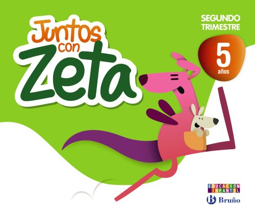 9788421675434: Juntos con Zeta 5 años Segundo trimestre