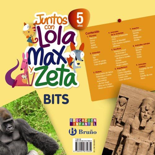 9788421675632: Juntos con Lola, Max y Zeta 5 aos Bits