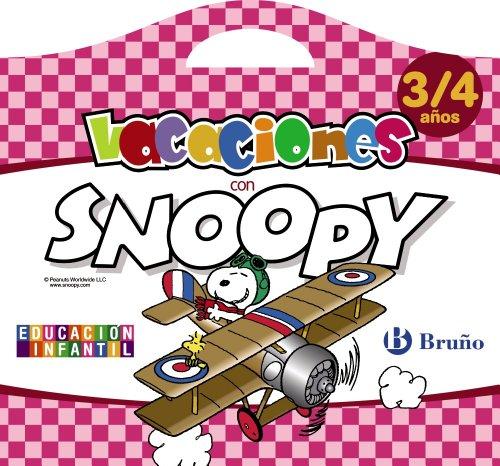 9788421675939: Vacaciones con Snoopy 3-4 años (Castellano - Material Complementario - Vacaciones Educación Infantil) - 9788421675939