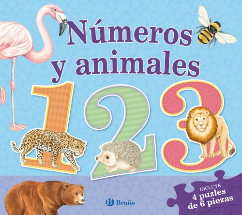 Números y animales / Numbers and animals (Spanish Edition): Vv. aa.