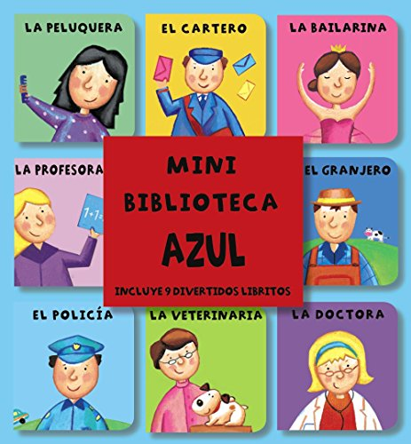 9788421679197: Mini Biblioteca Azul (Castellano - A Partir De 0 Años - Imaginarios (Primeros Diccionarios Visuales) - Minibibliotecas)