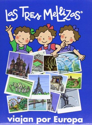 9788421681800: Las tres mellizas viajan por Europa / The Three Twins Traveling in Europe