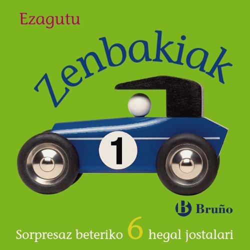 9788421682272: Ezagutu Zenbakiak (Euskara - 0 Urte + - Manipulagarriak (Ukitzeko Eta Jolasteko Liburuak) Pop Up-Ak - Ezagutu)