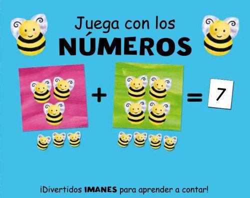 9788421683057: Juega con los números (Castellano - A Partir De 3 Años - Manipulativos (Libros Para Tocar, Jugar Y Pintar), Pop-Ups - Libros Con Imanes)