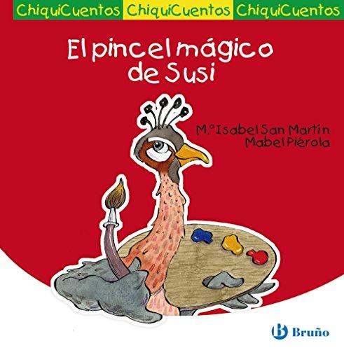 9788421684252: El pincel mágico de Susi / The magic paint brush of Susi