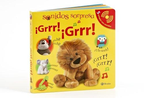9788421684702: Sonidos sorpresa Grrr! Grrr! / Noisy Peekaboo! Roar! Roar! (Ruiditos / Sounds) (Spanish Edition)