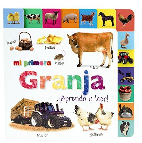 9788421685976: Mi primera granja. ¡Aprendo a leer! (Castellano - A Partir De 0 Años - Imaginarios (Primeros Diccionarios Visuales) - Mis Primeros...)