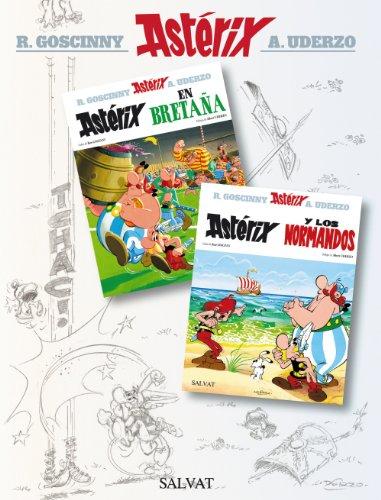 9788421688601: Astérix en Bretaña y Astérix y los normandos. Álbum doble (Castellano - A Partir De 10 Años - Astérix - Especiales)