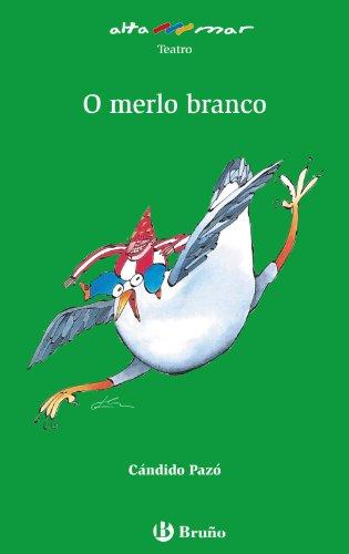 9788421689264: O merlo branco (Galego - A Partir De 10 Anos - Altamar)