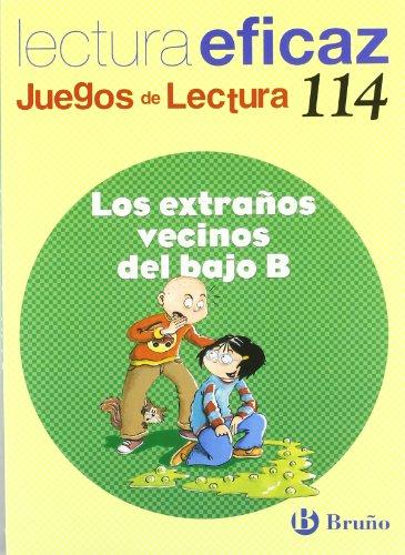 9788421698174: Los extranos vecinos del bajo B Juego Lectura (Juegos De Lectura / Reading Games) (Spanish Edition)