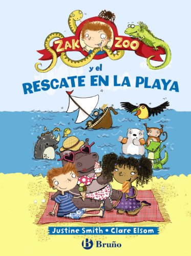 9788421699829: Zak Zoo y el rescate en la playa (Spanish Edition)