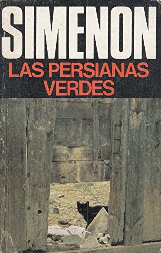 Las persianas verdes: Simeon, Georges.