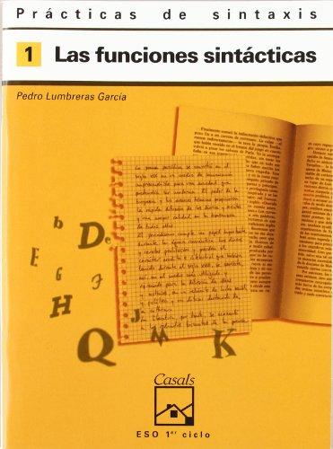 9788421821398: Prácticas de sintaxis 1. Las funciones sintácticas
