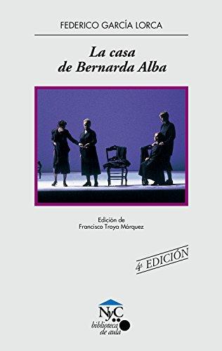 9788421825488: La casa de Bernarda Alba (NyC-Biblioteca de Aula)