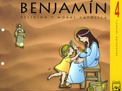 Benjamín, religión católica, 4 Educación Infantil, 4