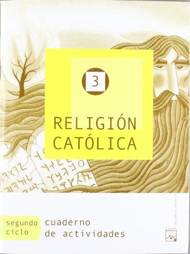 9788421831090: Religión Católica 3. Cuaderno de actividades (Mosaico)