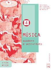 9788421833117: Música 4. Quadern d'activitats. Projecte Encaix