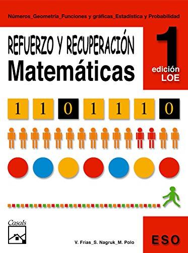 9788421833162: Refuerzo y recuperación. Matemáticas 1 (Cuadernos ESO) - 9788421833162