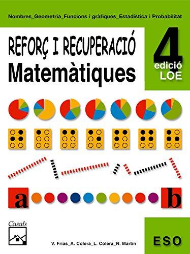 9788421833339: Reforç de matemàtiques 4