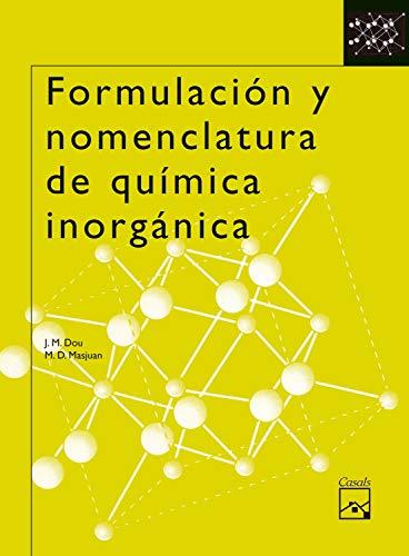 9788421835135: Formulación y nomenclatura de química inorgánica - 9788421835135