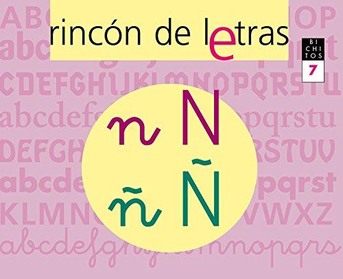 9788421835913: RINCÓN DE LETRAS. Cuaderno 7. Lectoescritura