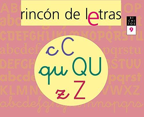 9788421835937: Bichitos, rincón de letras 9, Educación Infantil. Cuaderno
