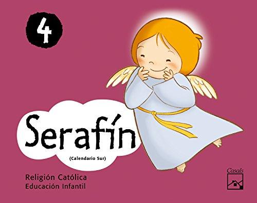 9788421847534: Carpeta Serafín 4 años (Calendario Sur)