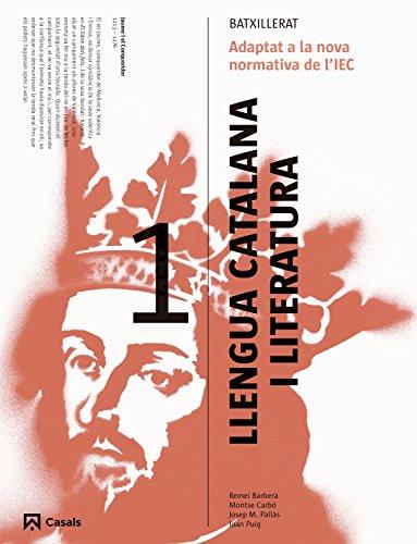 9788421849538: Llengua catalana i Literatura 1 Batxillerat (2015) - 9788421849538